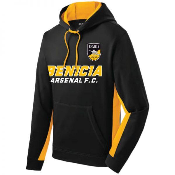 the latest e7636 42f0d HOODIE TORQUE: BENICIA ARSENAL FC